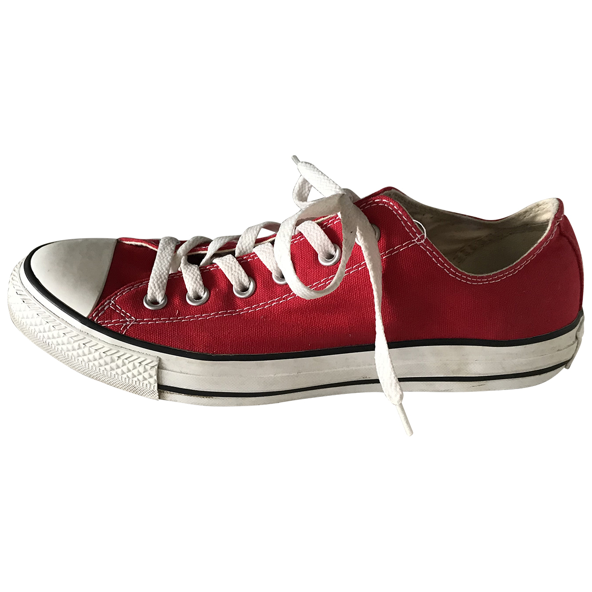 Converse \N Red Cloth Trainers for Women 41.5 EU