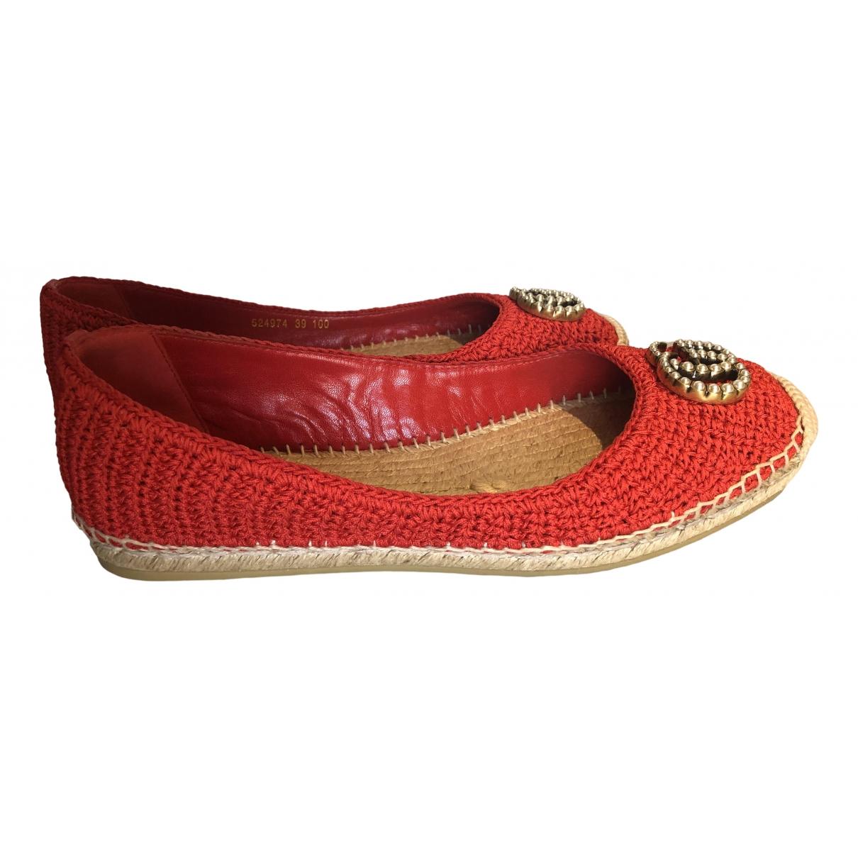Gucci - Espadrilles Lilibeth pour femme - rouge