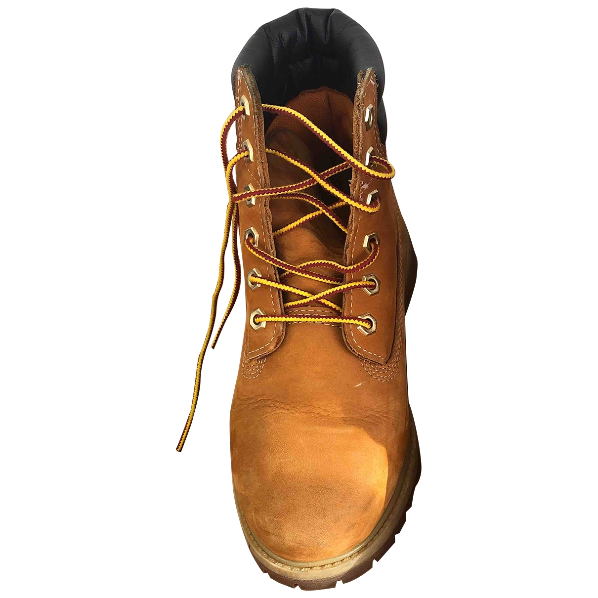 Timberland \N Beige Leather Boots for Women 37.5 EU