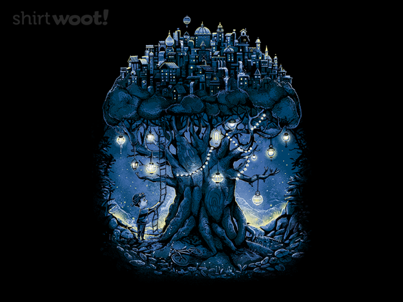 The Tree That Hides The City T Shirt