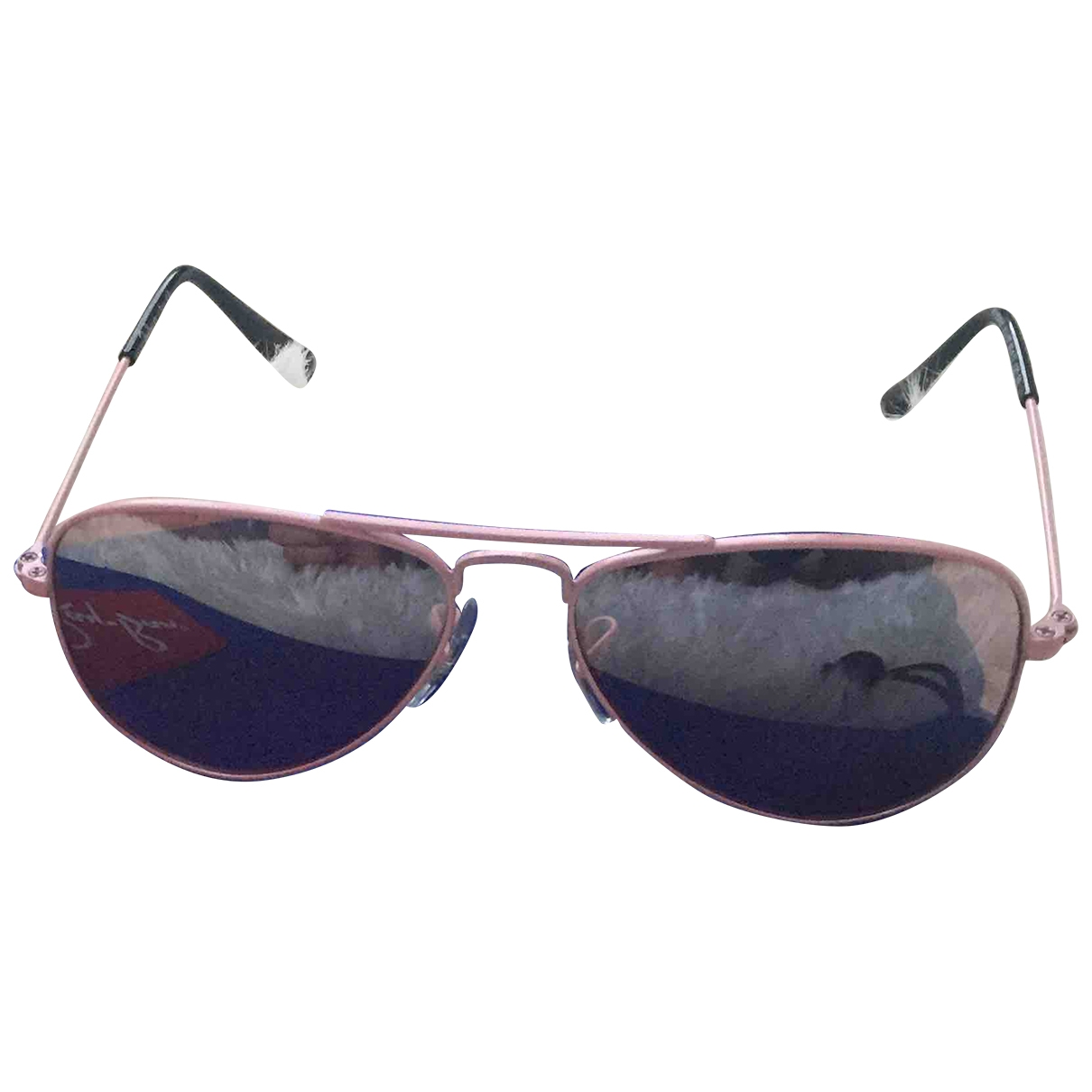 Ray-ban \N Pink Metal Sunglasses for Kids \N