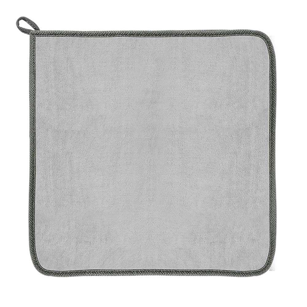 2PCS Baseus Easy Life Car Wash Towel 40 x 40cm Superfine Fiber Automatic Cleaning - Gray