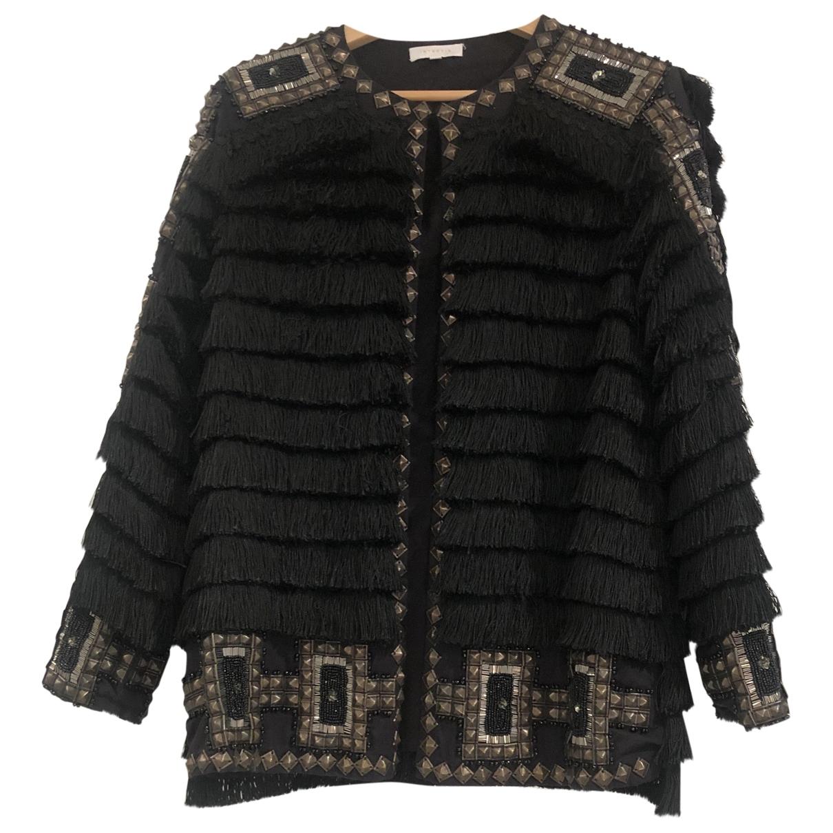 Hoss Intropia \N Black Cotton jacket for Women 40 FR