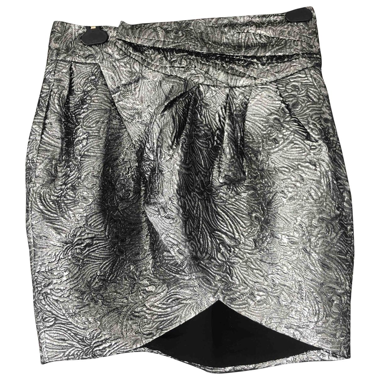 Isabel Marant Pour H&m - Jupe   pour femme en laine - argente