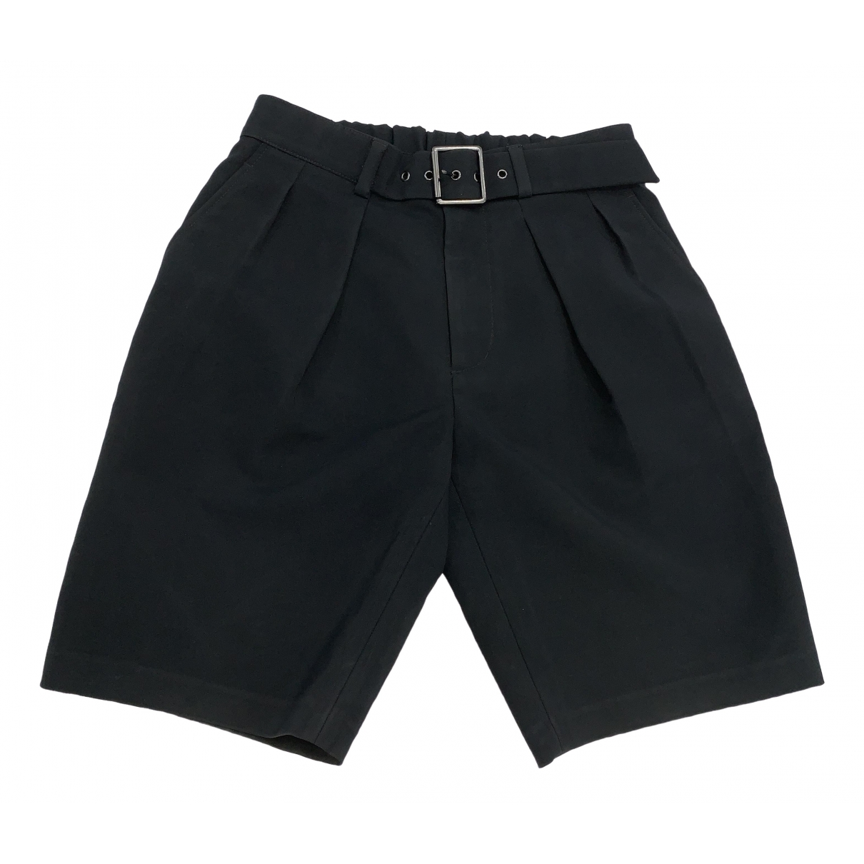 3.1 Phillip Lim \N Shorts in  Schwarz Synthetik