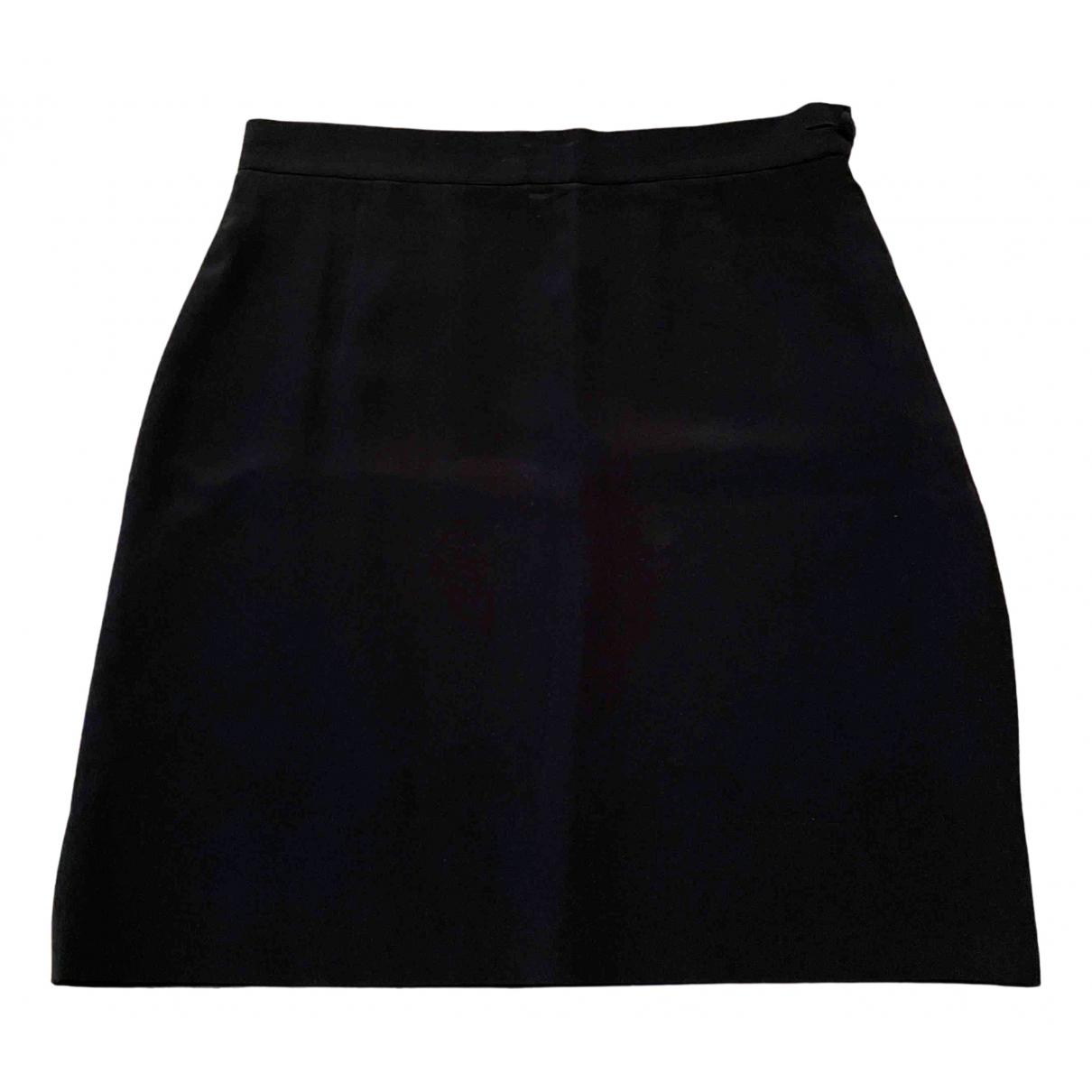 Non Signé / Unsigned N Black Silk skirt for Women 42 IT