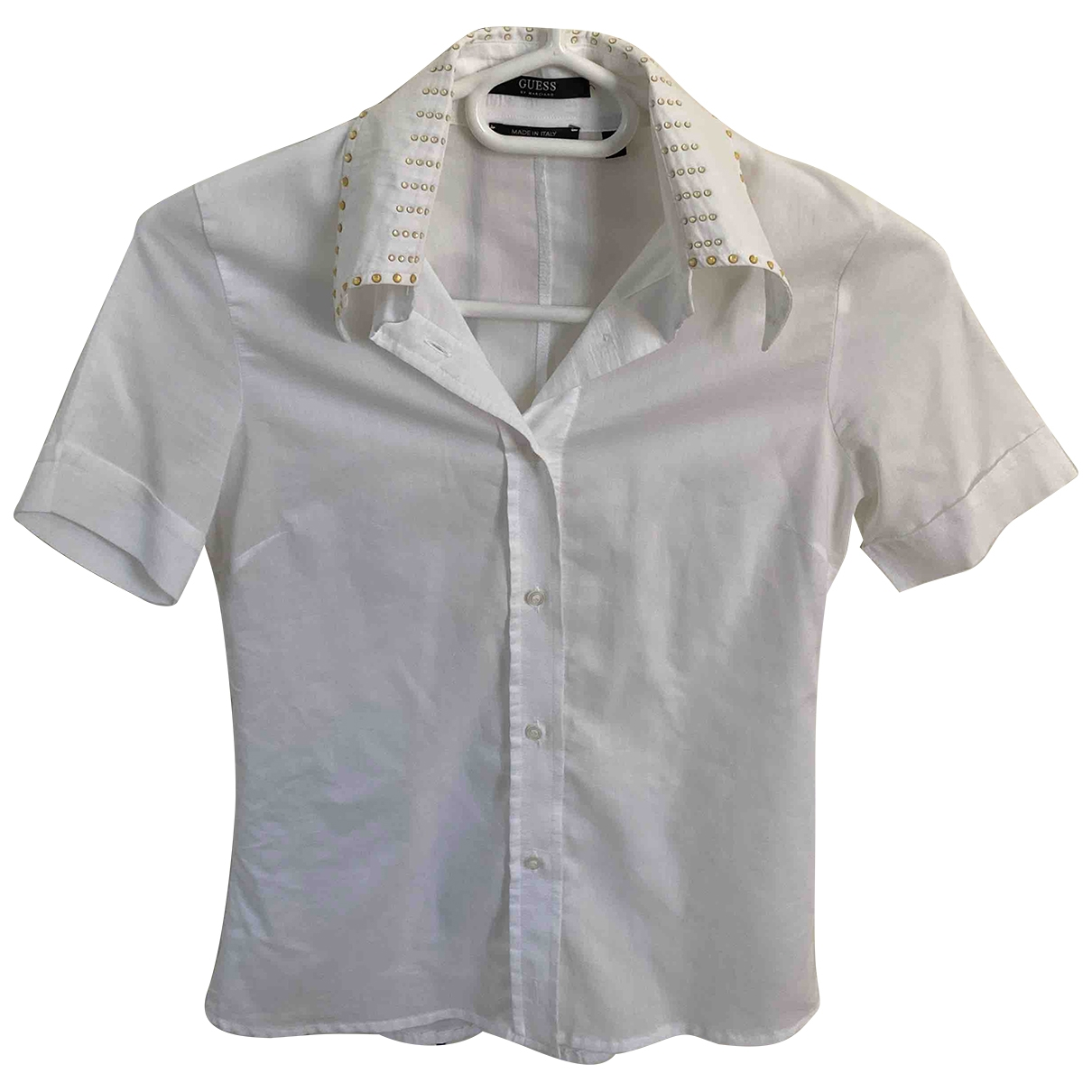 Guess \N White Cotton  top for Women 42 IT