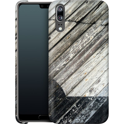 Huawei P20 Smartphone Huelle - Diagonal Wood von Brent Williams