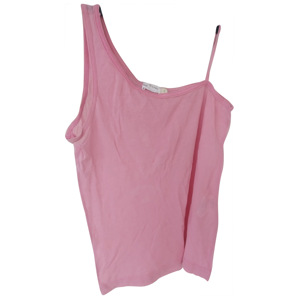 Helmut Lang N Pink Cotton  top for Women M International
