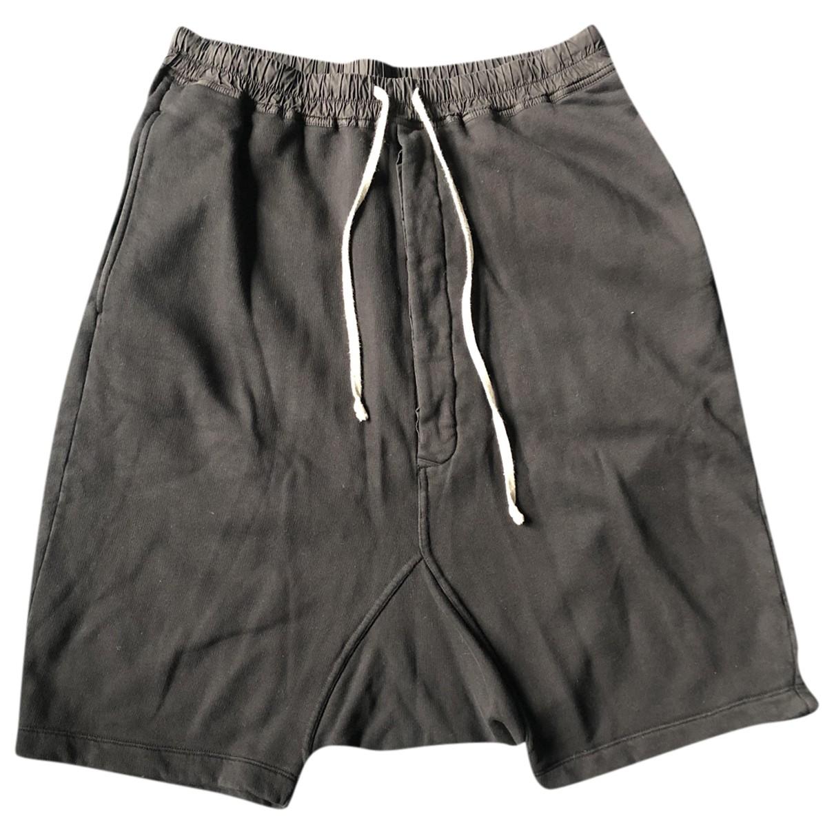 Rick Owens Drkshdw - Short   pour homme en coton - noir