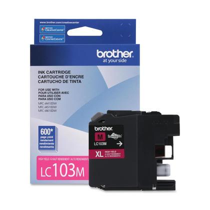 Brother MFC-J875DW Original Magenta Ink Cartridge, High Yield