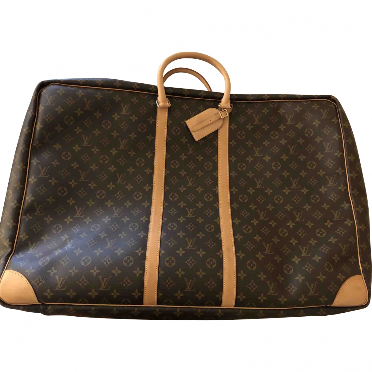 Louis Vuitton Sirius  Brown Cloth Travel bag for Women \N