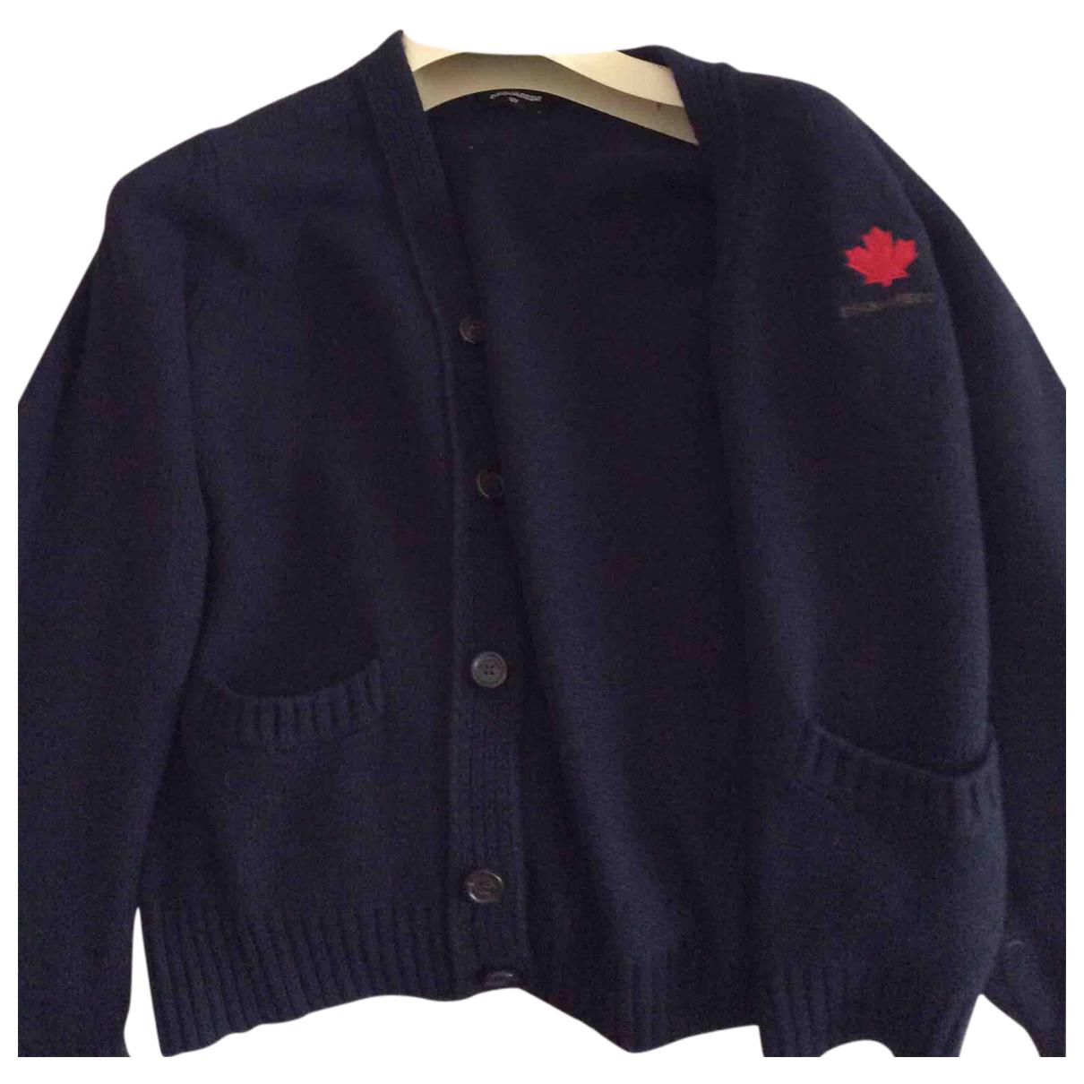Dsquared2 \N Pullover, StrickJacke in  Blau Kaschmir