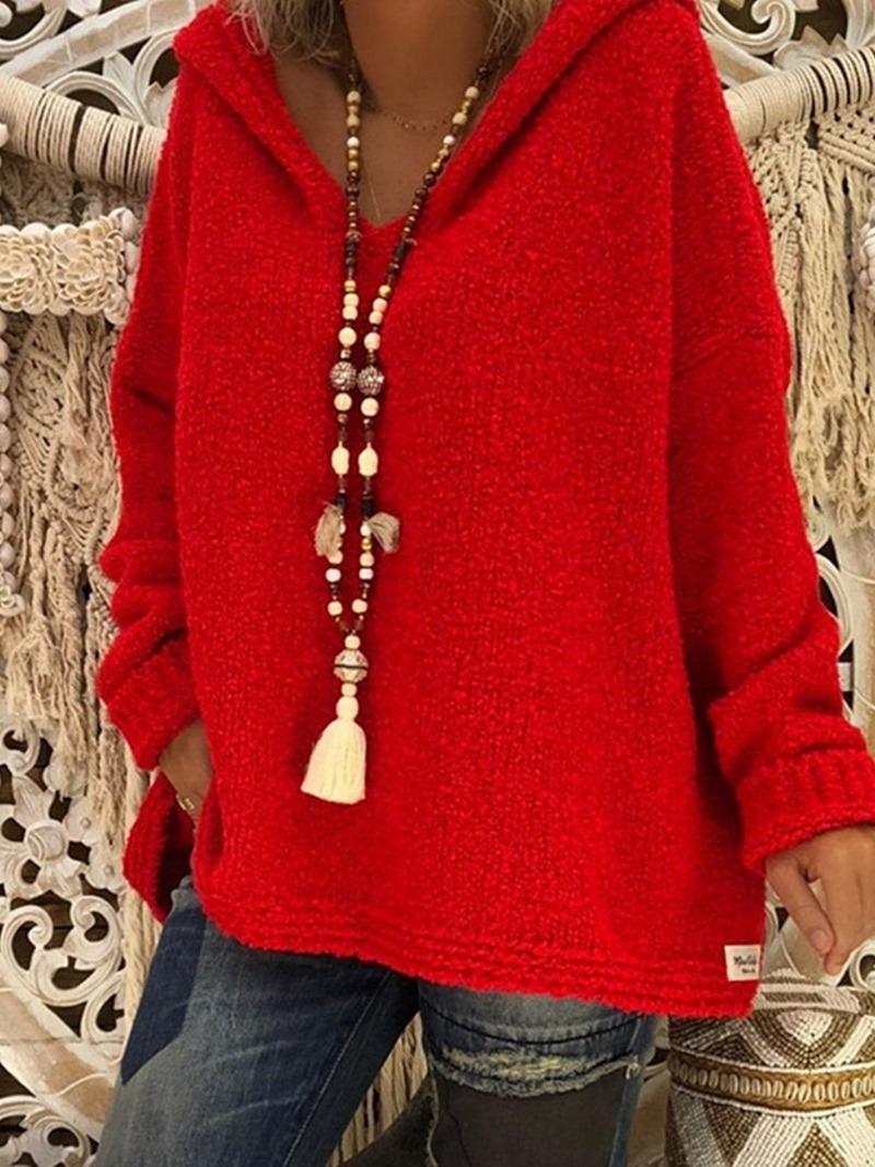 Ericdress Regular Thin Long Sleeve Winter Sweater