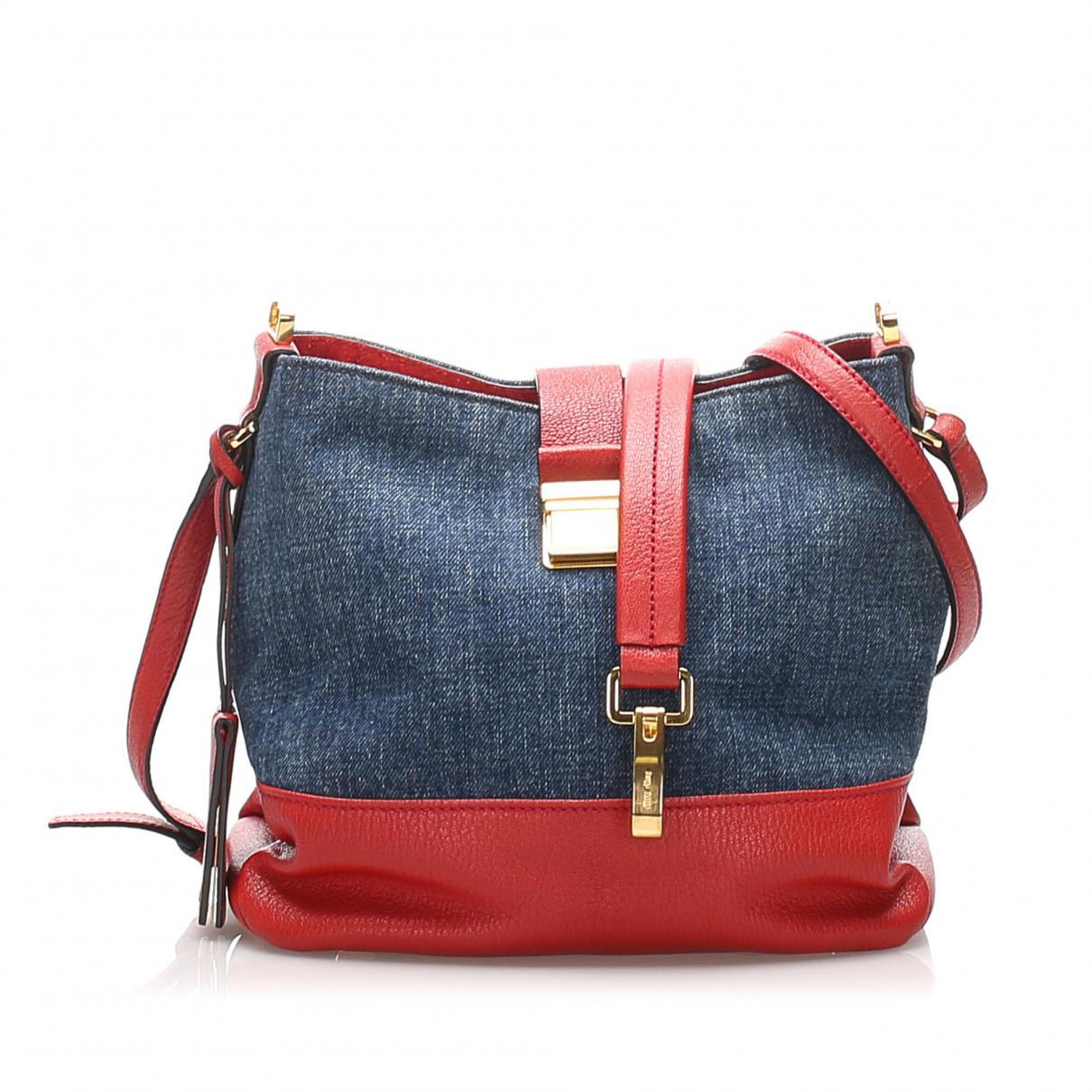 Miu Miu \N Blue Cloth handbag for Women \N