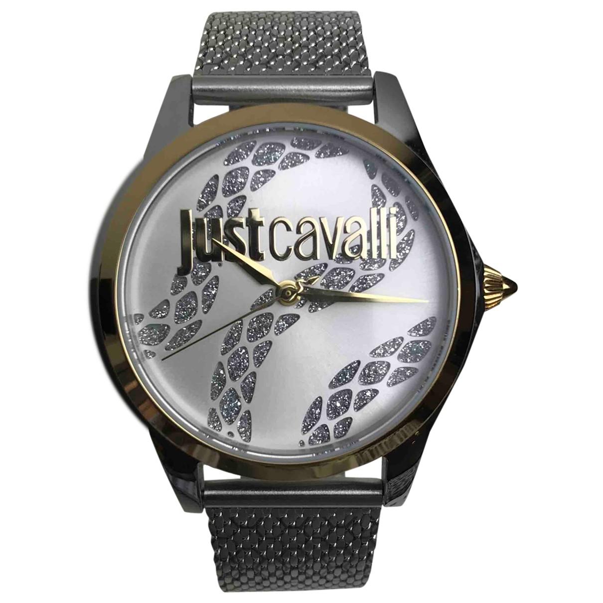 Just Cavalli N Silver Steel watch for Women N
