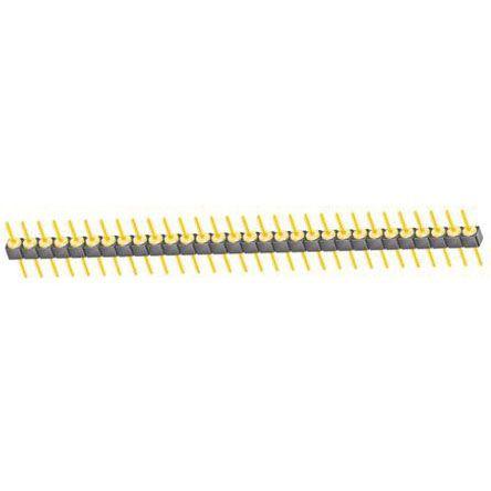 Samtec , TS, 30 Way, 1 Row, Straight Pin Header