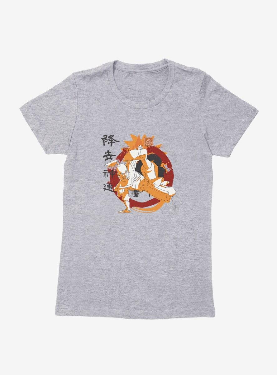 Avatar: The Last Airbender Zuko Bending Pose Womens T-Shirt