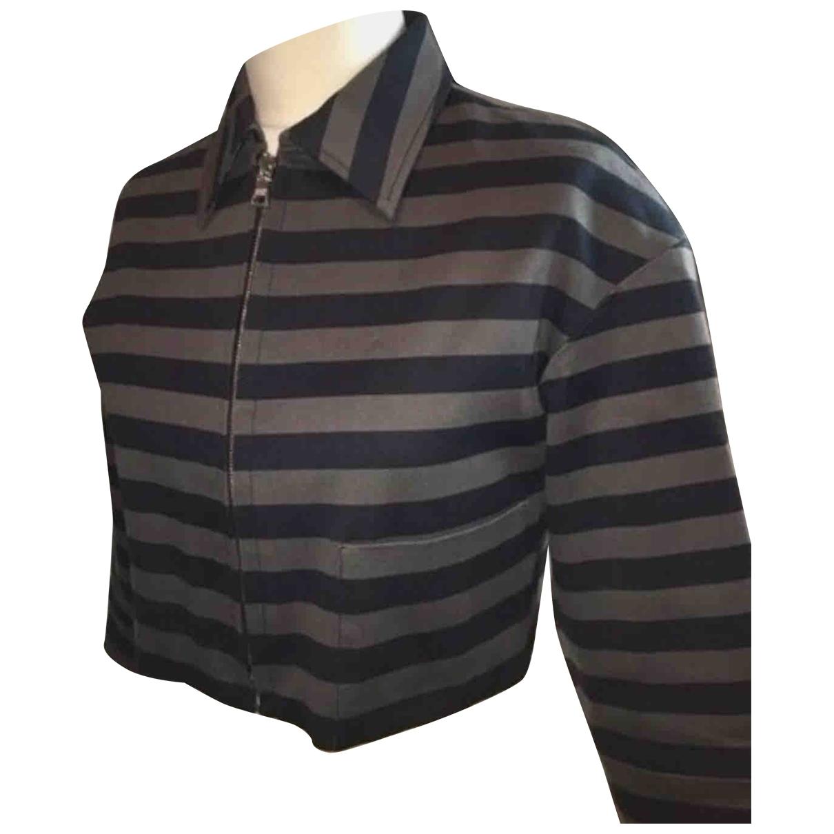 Prada - Veste   pour femme en coton - gris