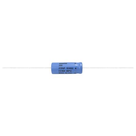 Vishay 200μF Electrolytic Capacitor 250V dc, Through Hole - 39D207F250JP6