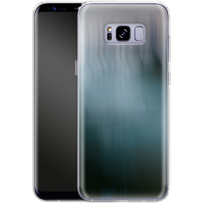 Samsung Galaxy S8 Plus Silikon Handyhuelle - Twilight Sea Abstract von Joy StClaire