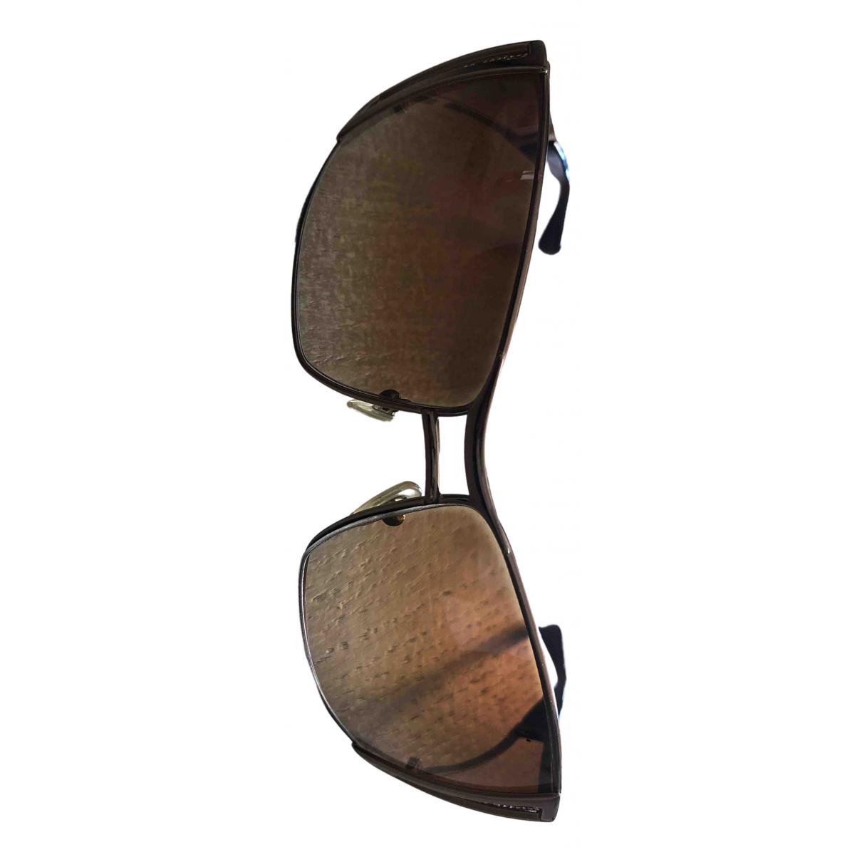 Versace - Lunettes   pour femme en autre - marron