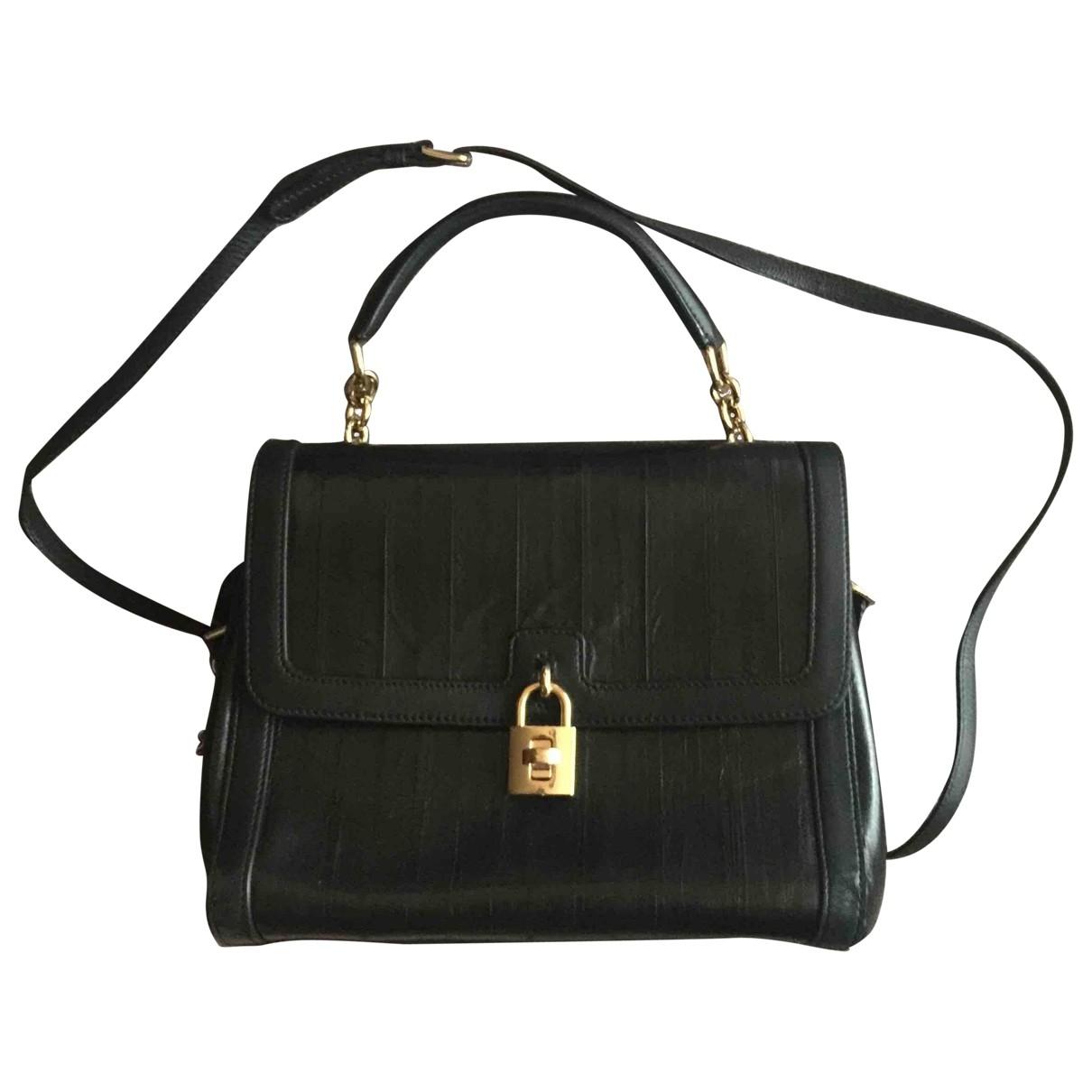 Dolce & Gabbana \N Black Eel handbag for Women \N