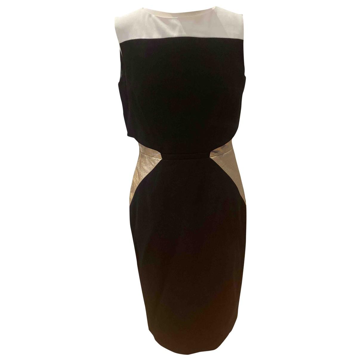 Paule Ka - Robe   pour femme en coton - elasthane - noir