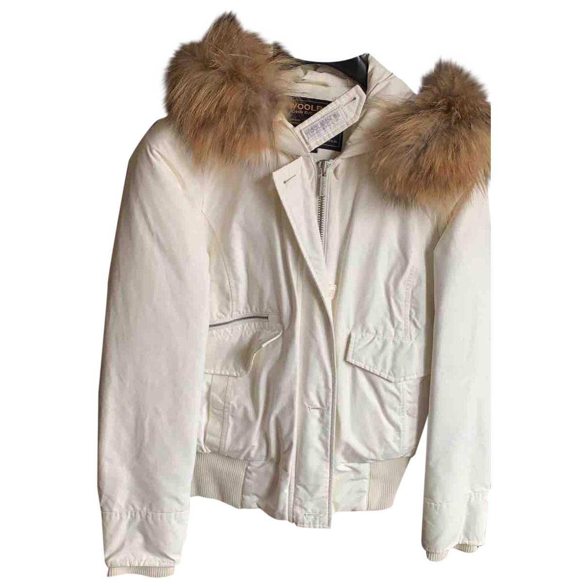 Woolrich - Veste   pour femme - blanc