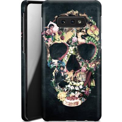 Samsung Galaxy S10e Smartphone Huelle - Vintage Skull von Ali Gulec