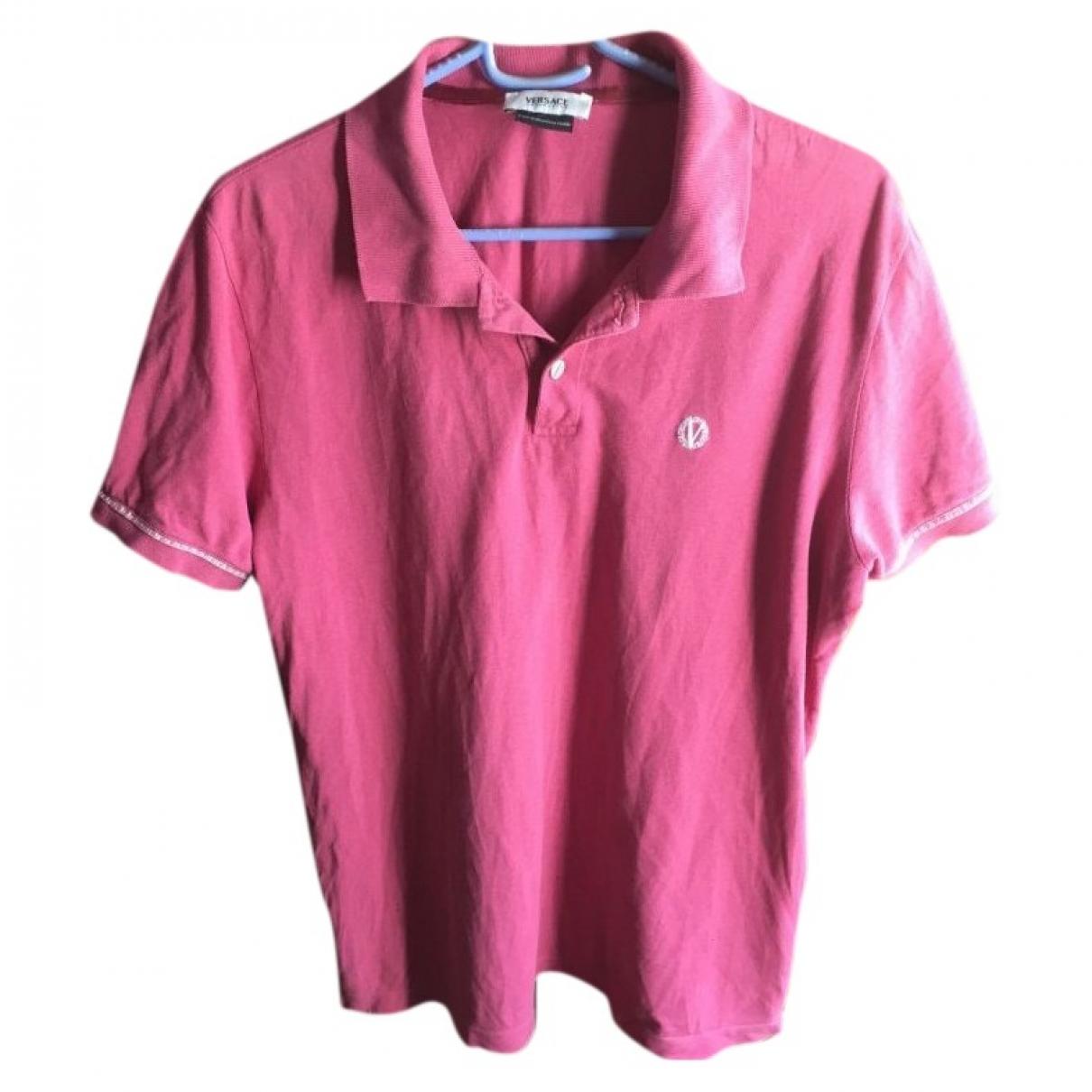 Versace \N Purple Cotton Polo shirts for Men L International