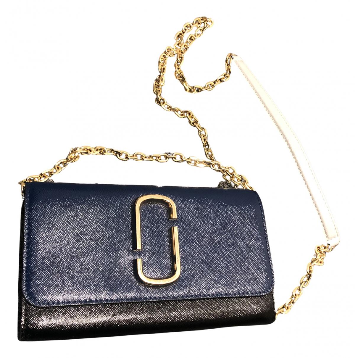 Marc Jacobs Snapshot Handtasche in  Schwarz Leinen