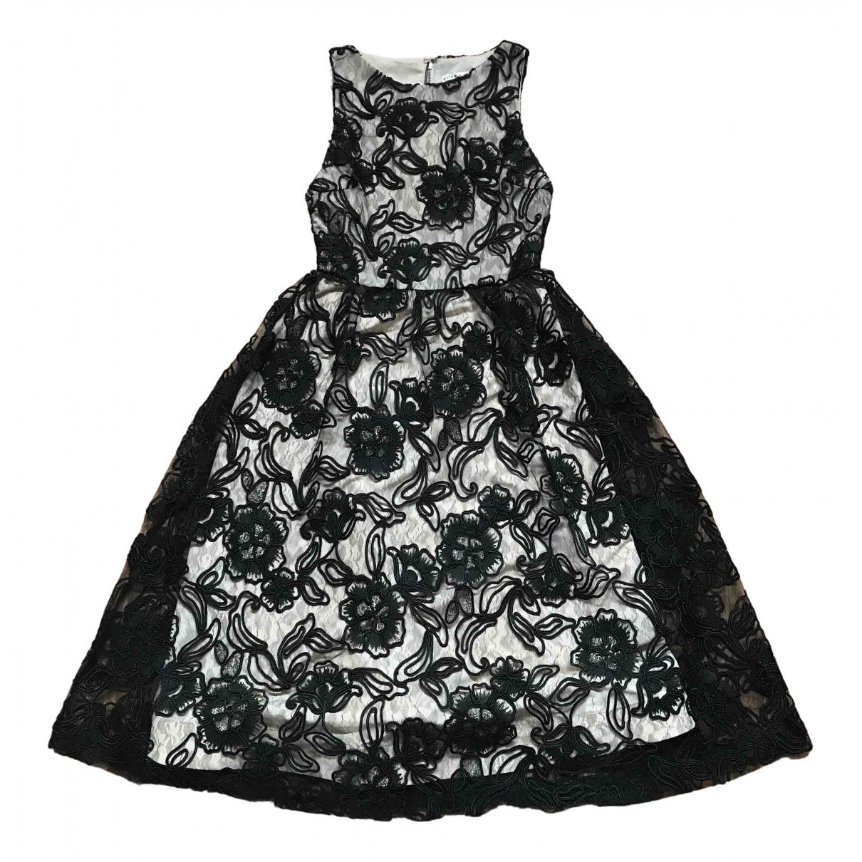 Alice & Olivia - Robe   pour femme en dentelle - noir