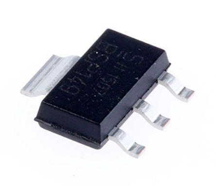 Infineon IFX1117MEVHTMA1, LDO Regulator, 1A Adjustable, 3.23 → 3.365 V 3+Tab-Pin, SOT-223 (40)