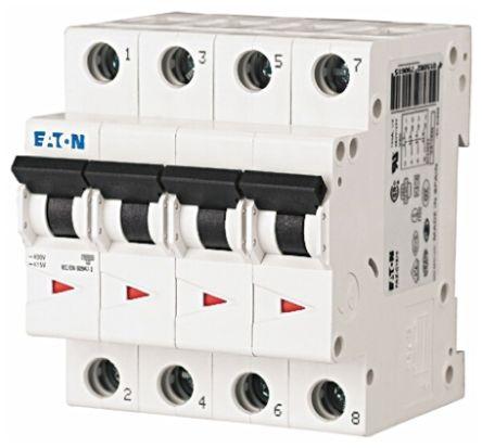 Eaton xEffect 20 A MCB Mini Circuit Breaker, 4P Curve C