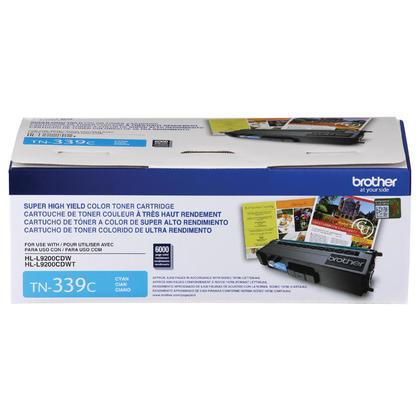 Brother TN339C Original Cyan Toner Cartridge Extra High Yield
