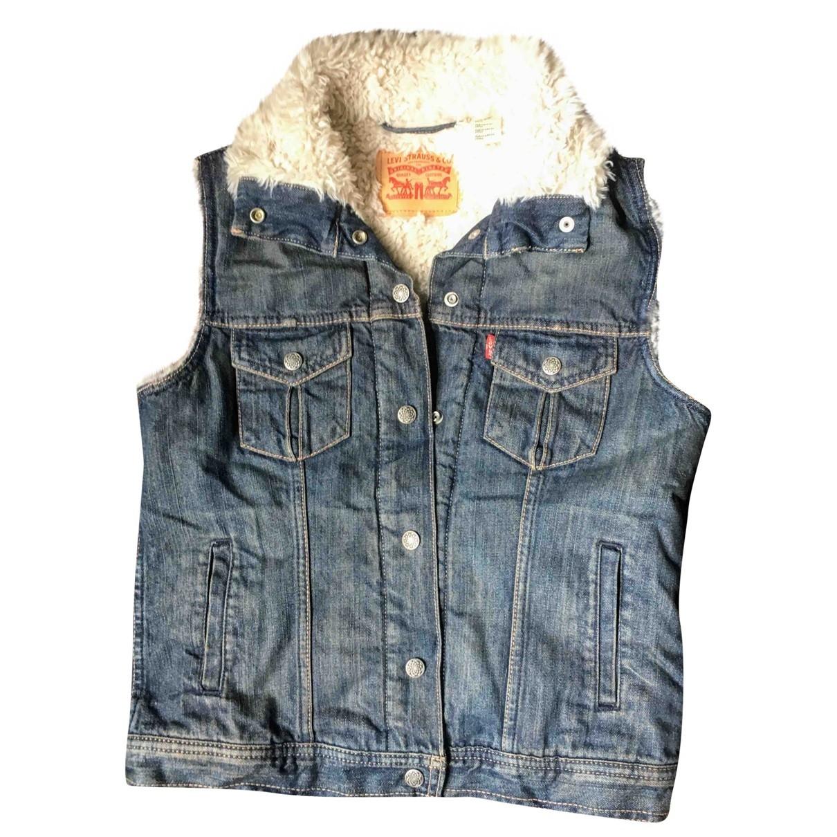 Levi's \N Blue Denim - Jeans jacket for Women 12 UK