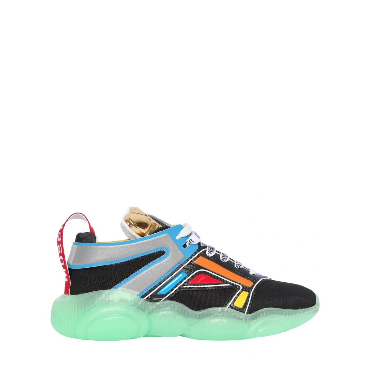 Moschino \N Sneakers in  Bunt Polyester