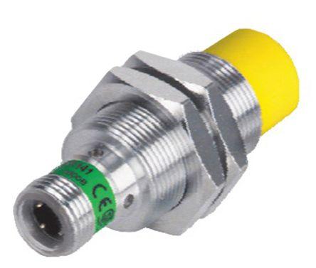 Turck M12 x 1 Inductive Sensor - Barrel, PNP-NO/NC Output, 8 mm Detection, IP67, M12 - 4 Pin Terminal