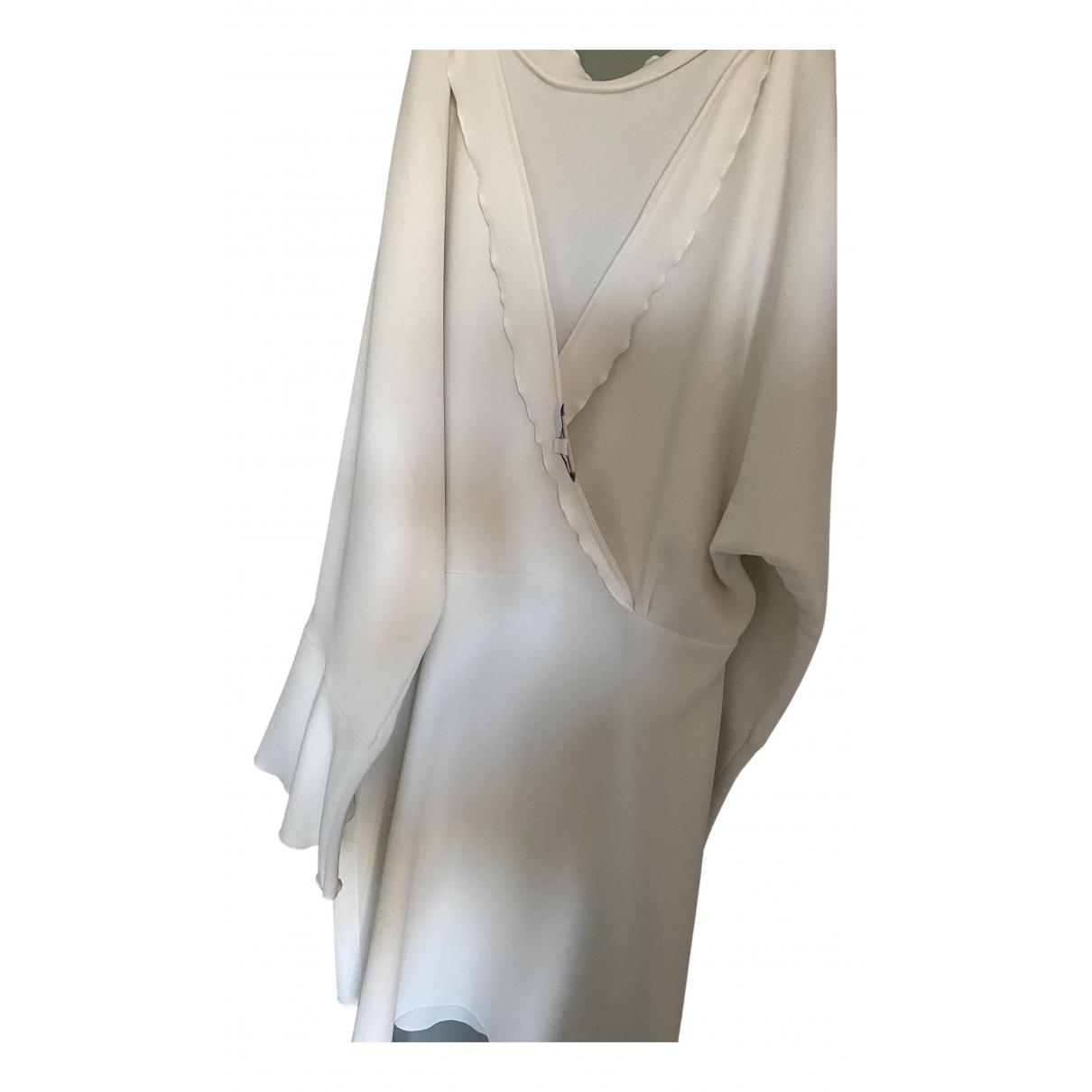 Iro - Robe Spring Summer 2020 pour femme en soie - blanc