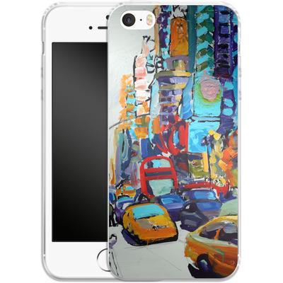 Apple iPhone 5s Silikon Handyhuelle - Busboys Lament von Tom Christopher