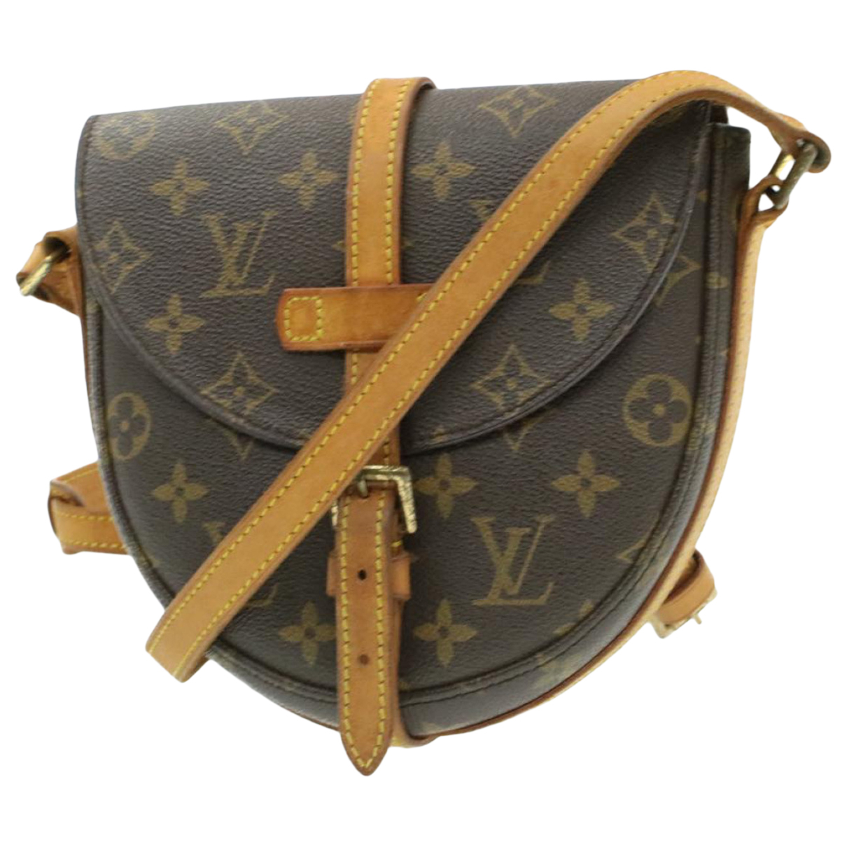 Louis Vuitton - Sac a main Chantilly pour femme en toile - marron