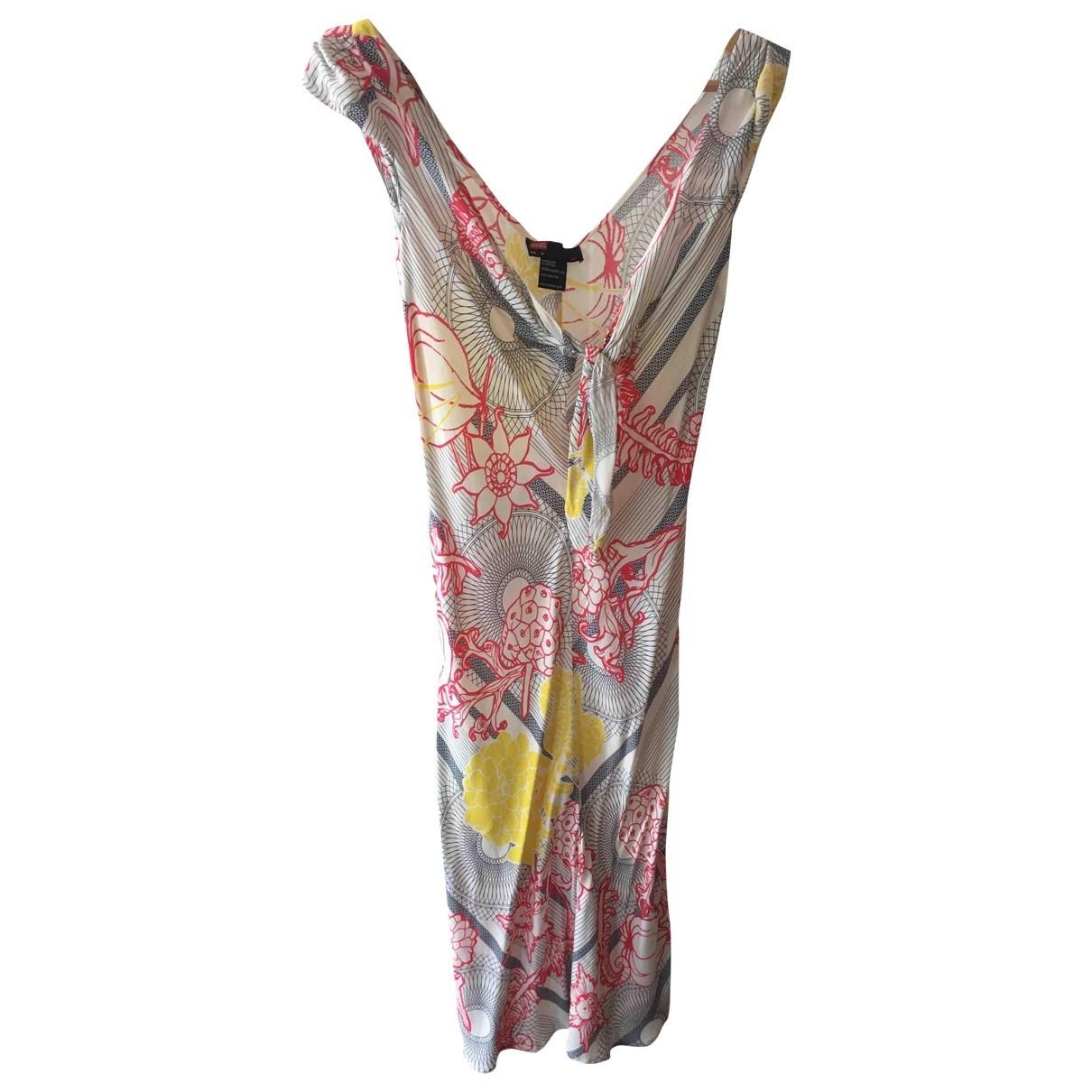 Diesel - Robe   pour femme en coton - blanc