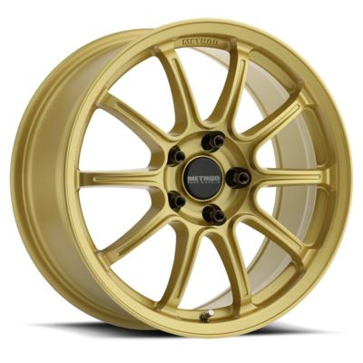 Method Race Wheels MR503 Rally, 17x8 with 5x100 Bolt Pattern - Gold - MR50378051142