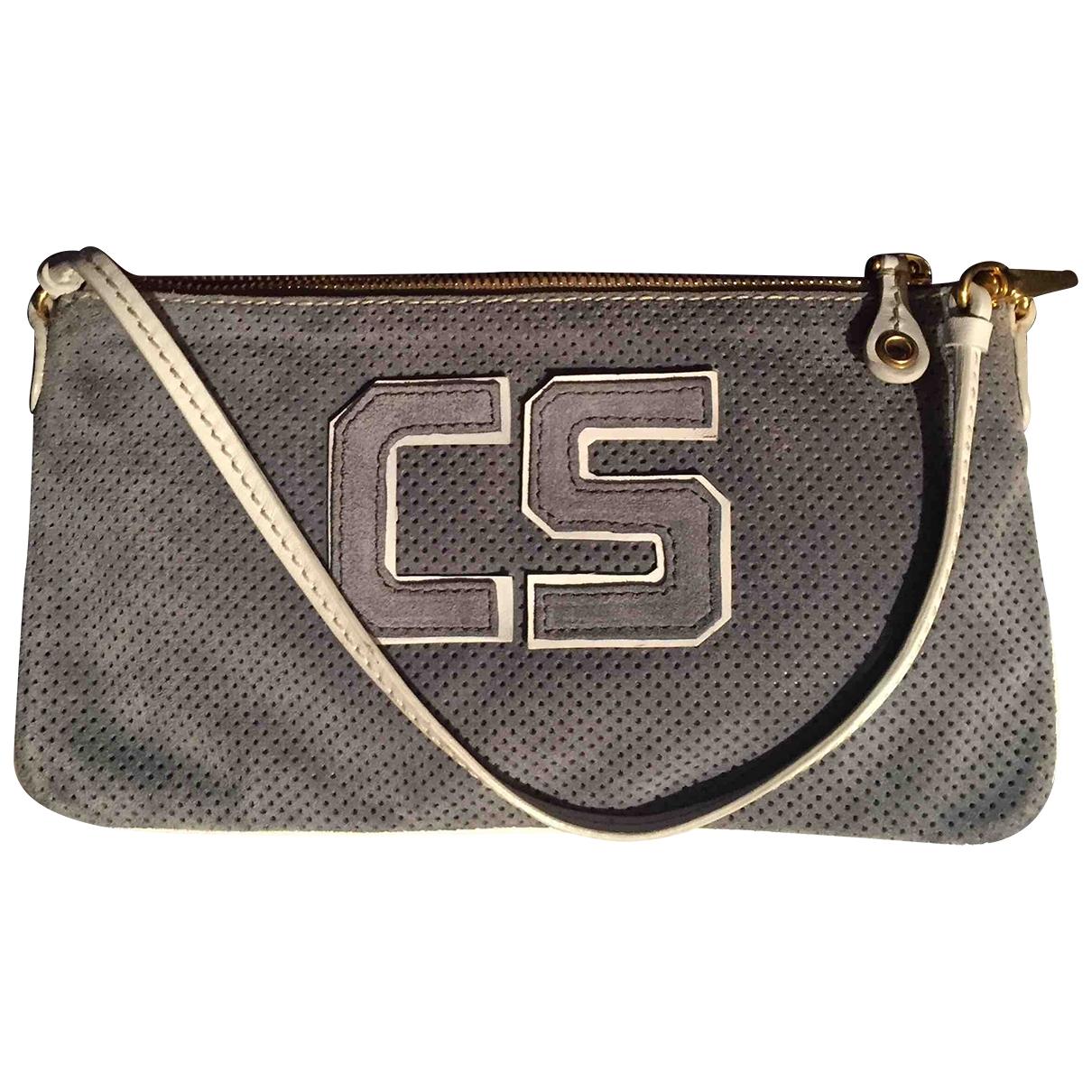 Carshoe \N Handtasche in Veloursleder