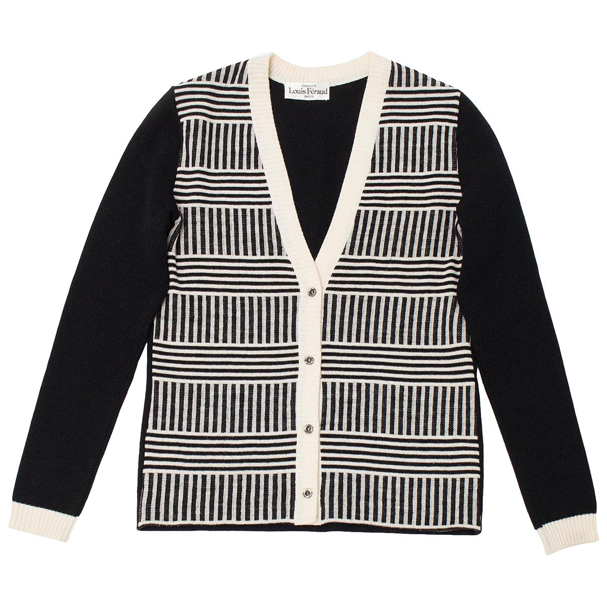 Louis Feraud - Pull   pour femme en laine - noir