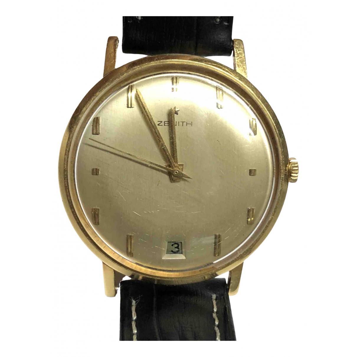 Zenith Classique Uhr in  Gelb Gelbgold