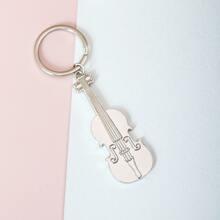 Violin Charm Keychain