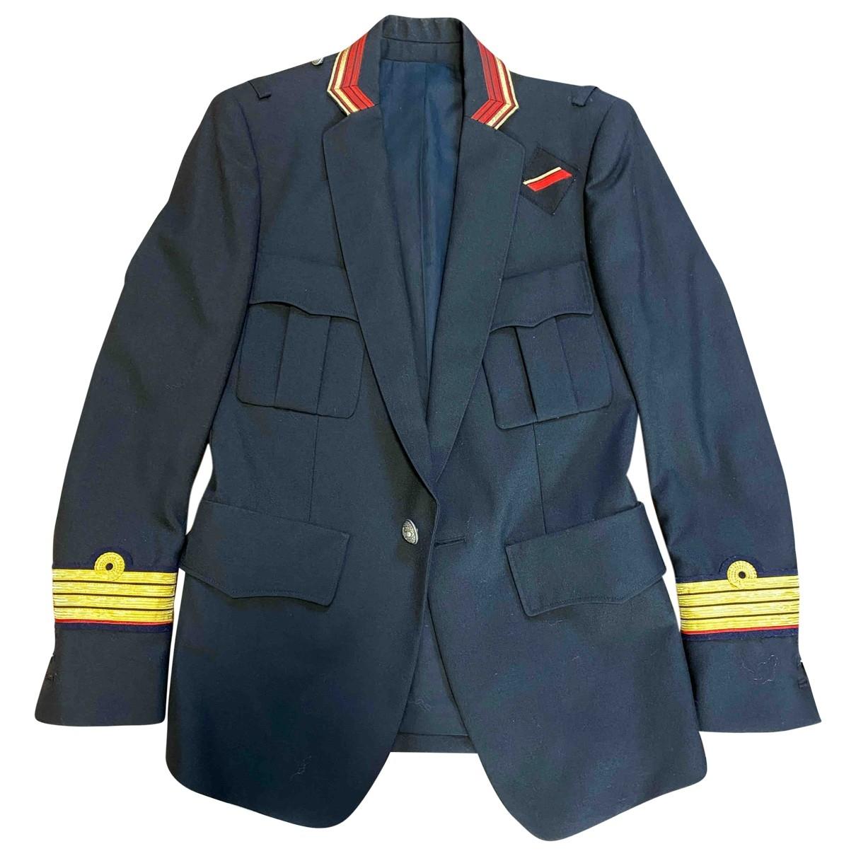 Balmain \N Black Wool jacket  for Men 44 IT