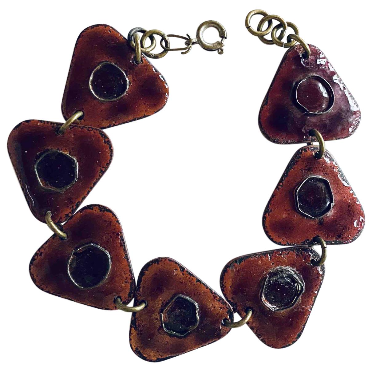 - Bracelet   pour femme en ceramique - bordeaux